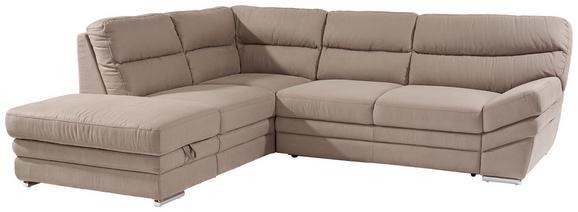 Sedežna Garnitura Victory - krom/bež, Konvencionalno, kovina/tekstil (217/264cm) - Premium Living