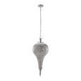 Hängeleuchte max. 40 Watt 'Alibaba' - Silberfarben, Metall (30/30/75,5cm) - Bessagi Home