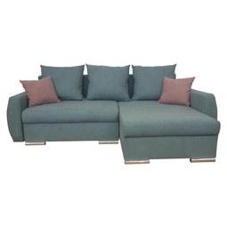 SAROKGARNITÚRA CANTATA - Pink/Mentazöld, modern, Textil (228/88/146cm) - Modern Living