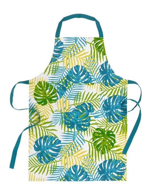 Predpasnik Green Leaf - večbarvno, tekstil (60/90cm) - Mömax modern living