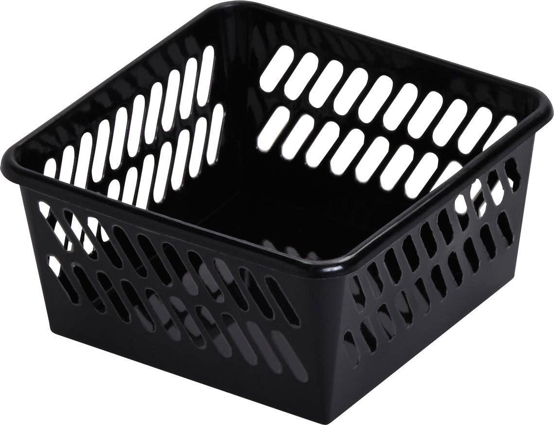 Kosár Mimi - fekete, műanyag (9,5/4,9/9,5cm) - MÖMAX modern living