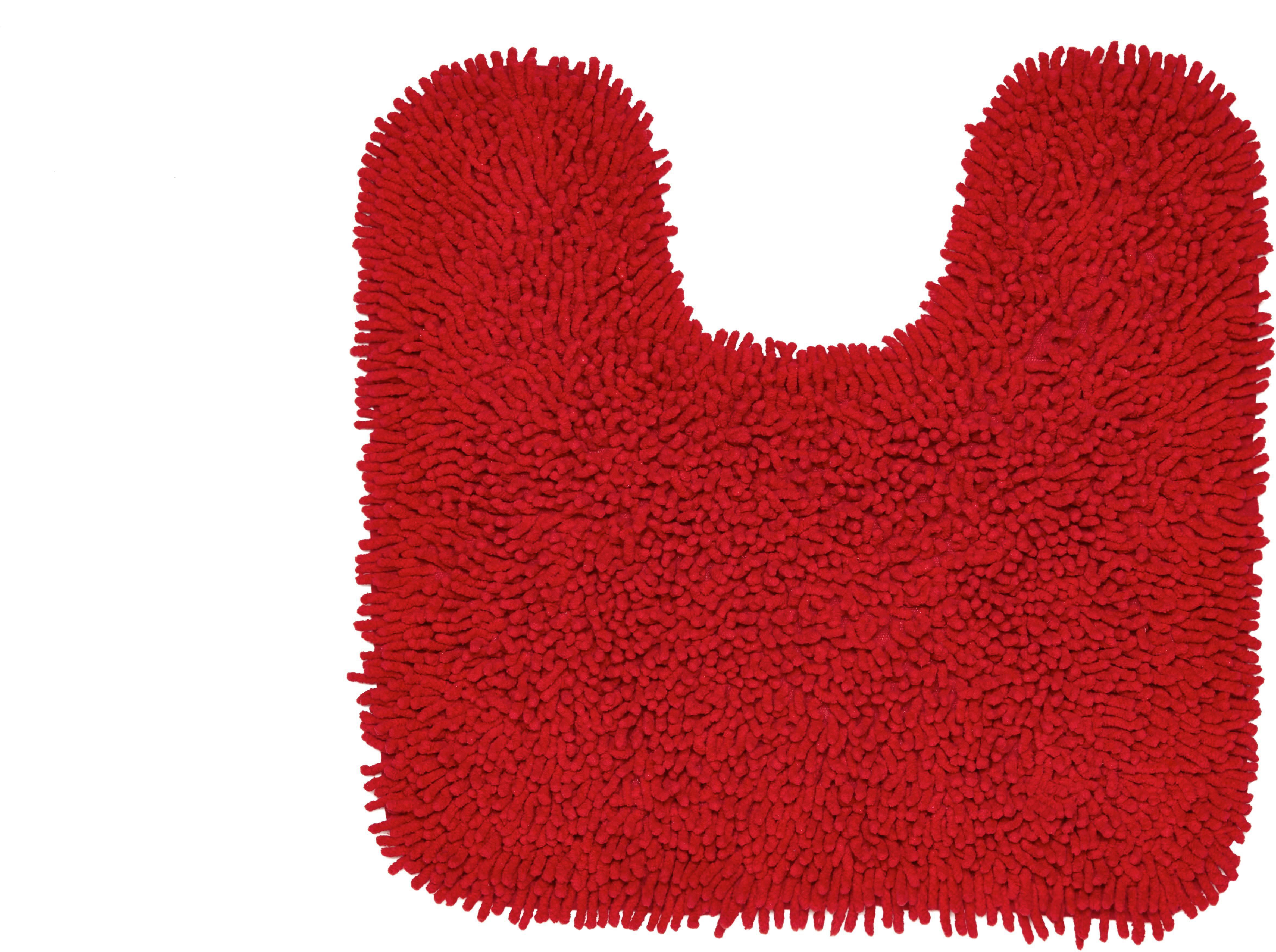 WC-Vorleger Jenny ca. 55x55cm - Rot, Textil (55/55cm) - MÖMAX modern living