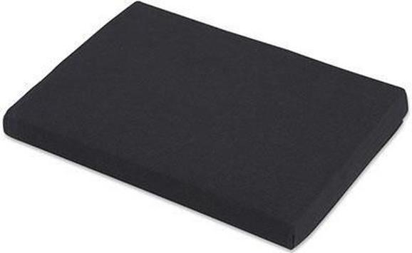 Spannleintuch Basic Schwarz ca.180x200cm - Schwarz, Textil (180/200cm) - Mömax modern living