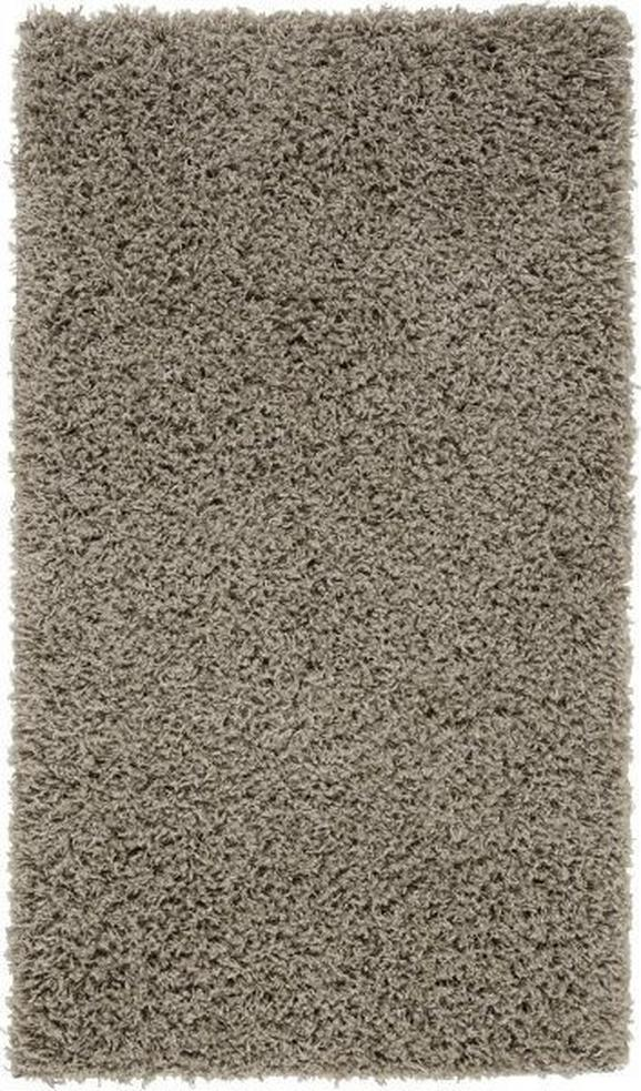 Covor Cu Fire Lungi Răsucite Primo 1 -based- -top- - Gri, KONVENTIONELL, Material textil (60/100cm) - BASED