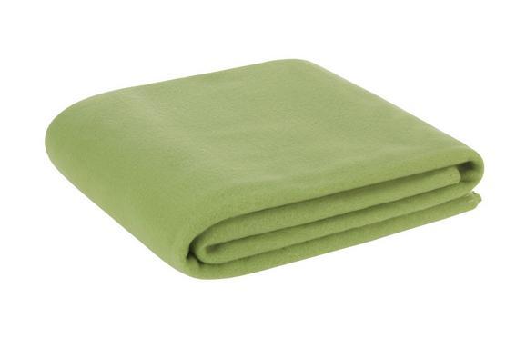 Fleecedecke Trendix Grün 130x180cm - Grün, Textil (130/180cm) - Mömax modern living