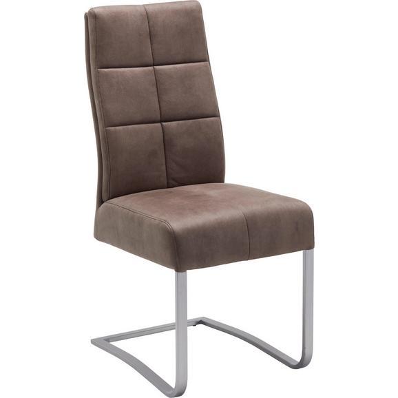 schwingstuhl in braun online kaufen m max. Black Bedroom Furniture Sets. Home Design Ideas