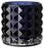 Teelichthalter Jolina - Dunkelblau, MODERN, Glas (9,8/9,8cm) - Mömax modern living