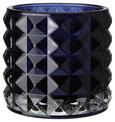 Teelichthalter Jolina Ø ca. 9,8 cm - Dunkelblau, MODERN, Glas (9,8/9,8cm) - Mömax modern living