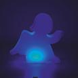 Dekoleuchte Angel mit LED ca. 85/77 cm - Weiß, MODERN, Kunststoff (85/17/77cm) - Bessagi Home