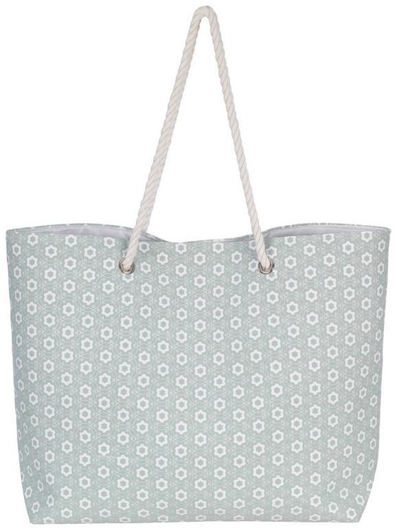 Torba Za Na Plažo Ameline - zelena, tekstil (44/40cm) - Mömax modern living