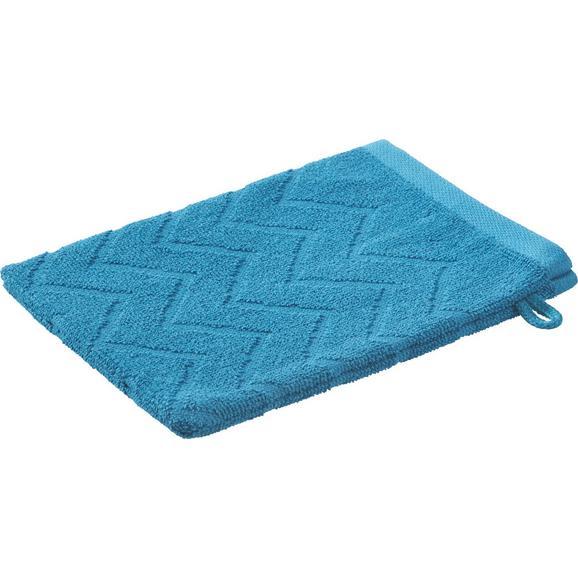 Rokavica Za Umivanje Peter - petrolej, tekstil (16/21cm) - Mömax modern living