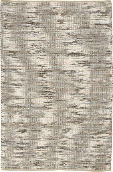 Handwebteppich Stefan in Beige ca. 160x230cm - Beige, MODERN, Leder/Textil (160/230cm) - MÖMAX modern living