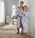 Bademantel Jerry Grau L/XL - Grau, Textil (L/XL) - Premium Living