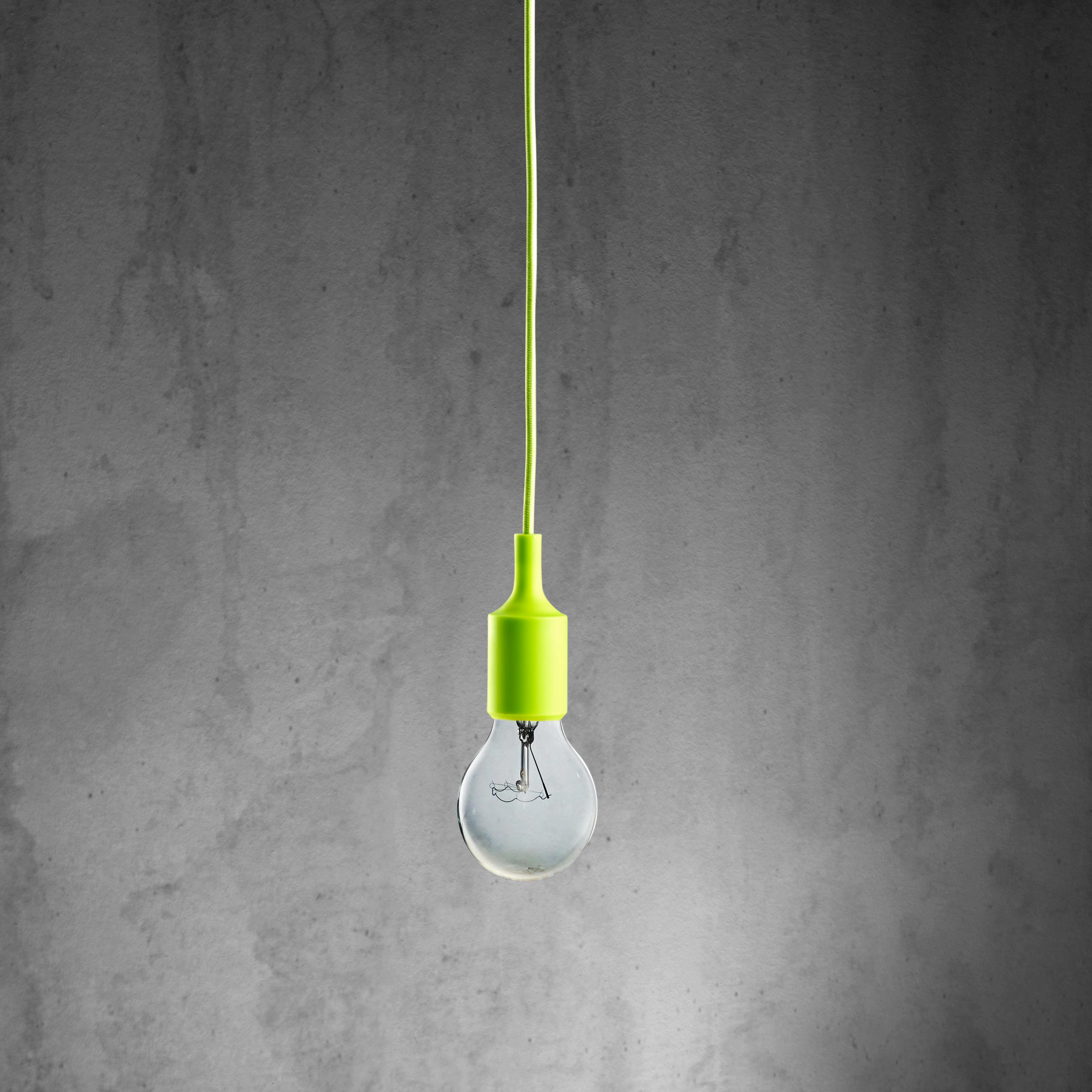 Hängeleuchte abby - Grün, MODERN, Kunststoff (9/92cm) - MÖMAX modern living