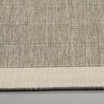 Flachwebeteppich Brüssel in Grau ca. 120x170cm - Grau, MODERN, Textil (120/170cm)