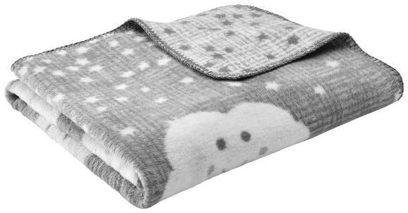 Babydecke S'oliver ca.75x100cm in Grau - Grau, MODERN, Textil (75/100cm) - S. Oliver