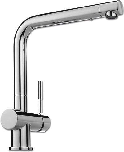 Spültischarmatur Franke 370-1 - Weiß, LIFESTYLE, Metall (28,1cm) - Franke