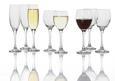 Rotweinglas Sarah ca. 340ml, 6 Tlg. - Klar, KONVENTIONELL, Glas - Homeware