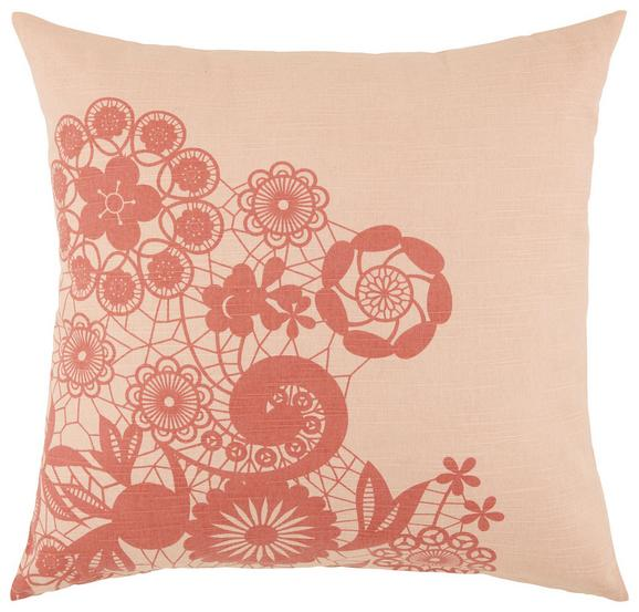 Zierkissen Lovely Pink/rosa 45x45cm - Pink/Rosa, ROMANTIK / LANDHAUS, Textil (45/45cm) - Mömax modern living