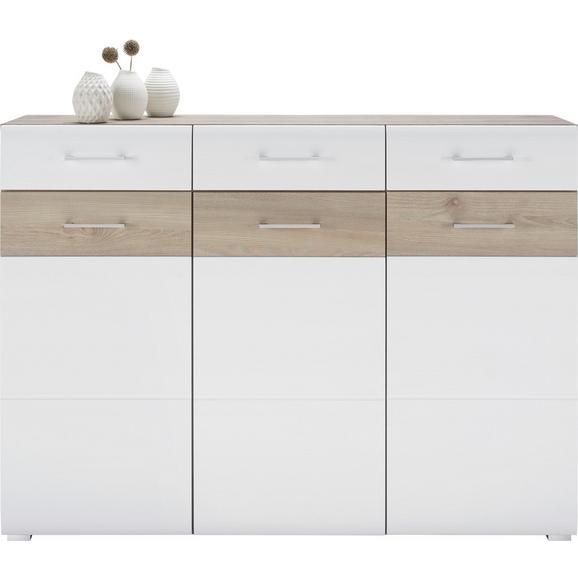 Sideboard in Silbereiche/Weiß online kaufen ➤ mömax