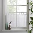 Vitrázsfüggöny Hanna 145/50 - Fehér, Textil (145/50cm) - Mömax modern living