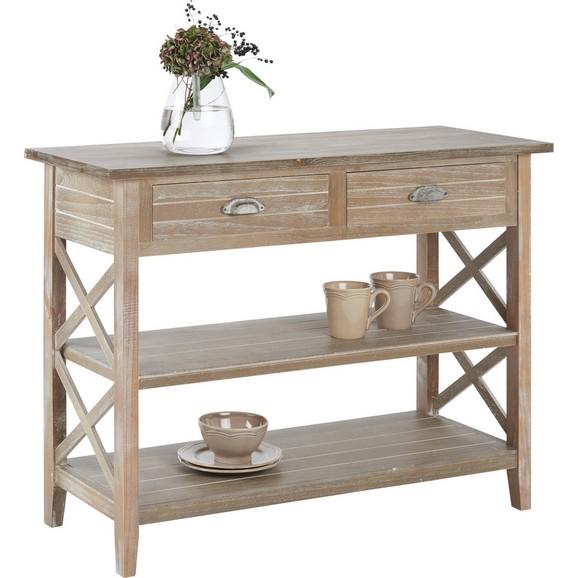 konsolentisch savannah antik 104x42cm online kaufen m max. Black Bedroom Furniture Sets. Home Design Ideas