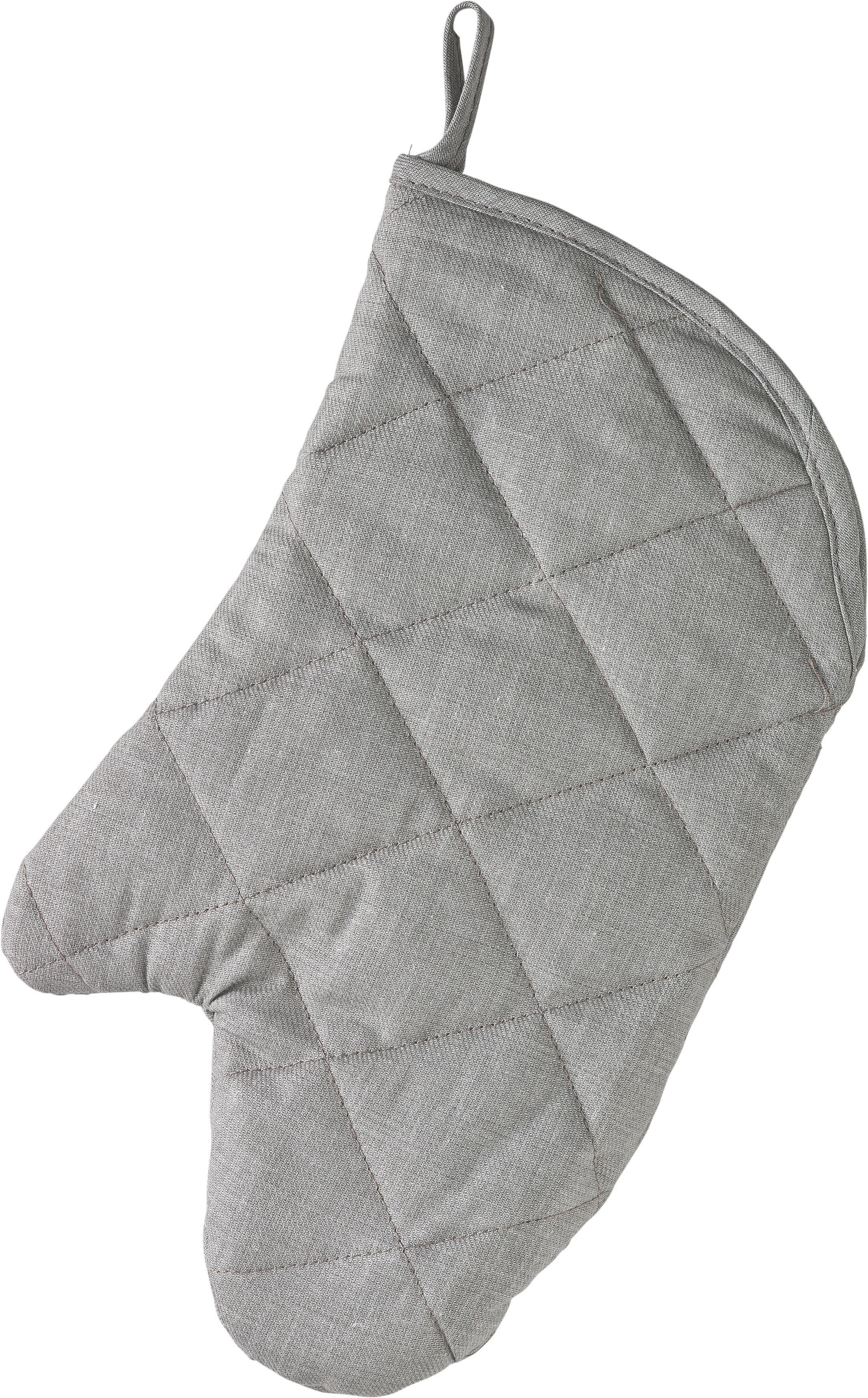 Edényfogó Kesztyű Evelin - szürke, textil (19/30cm) - MÖMAX modern living