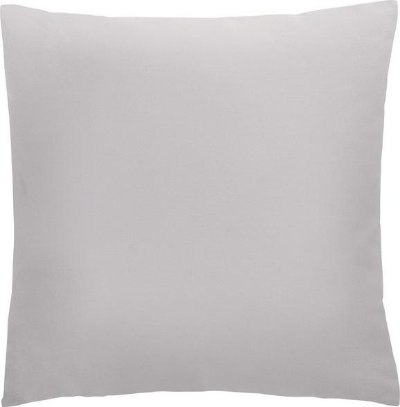 Kissen Diane 40x40cm - Taupe, KONVENTIONELL, Textil (40/40cm) - Mömax modern living