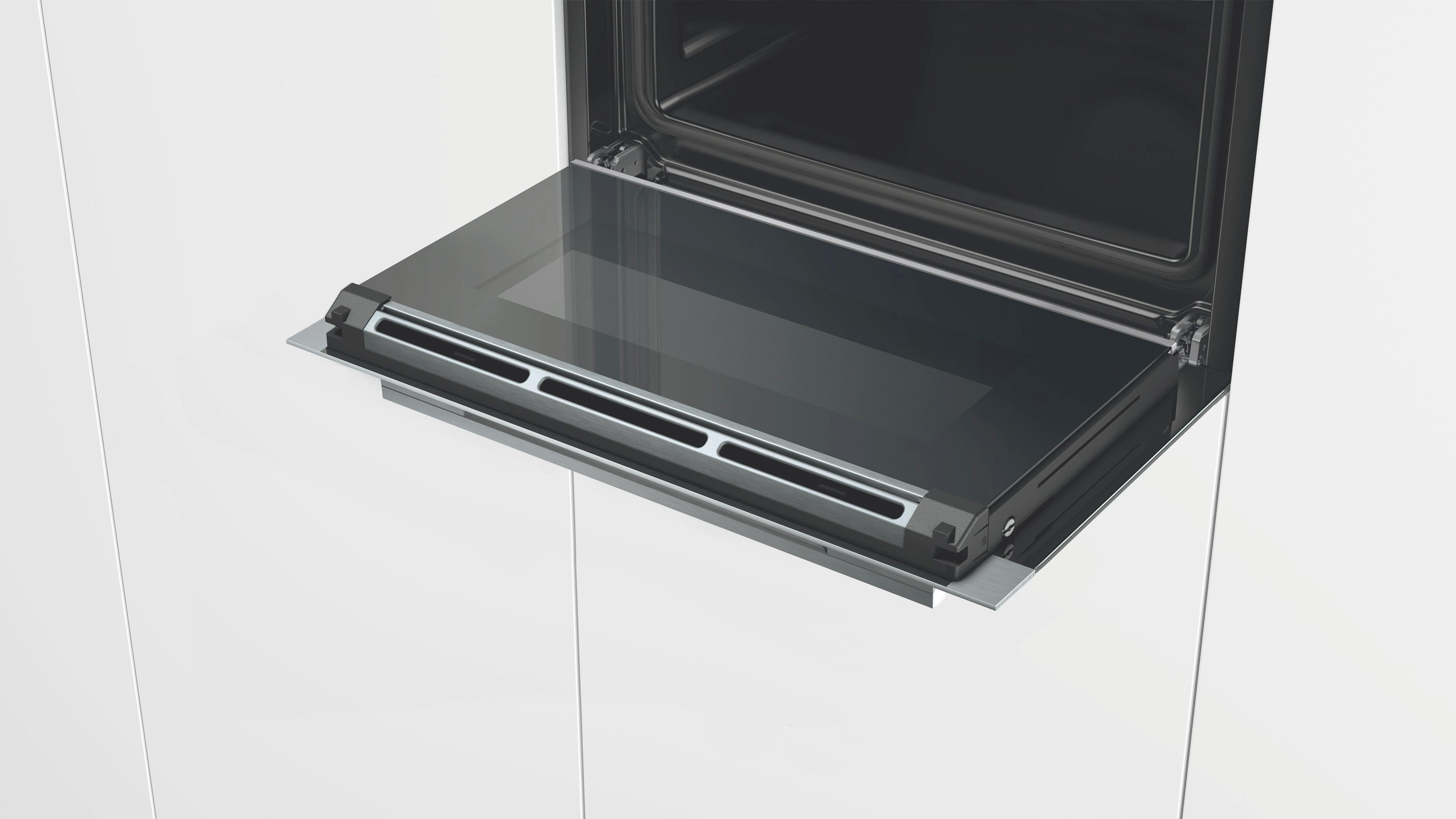 Einbaudampfgarer Siemens Cd634gbs1, EEZ A+ - Glas/Metall (59,5/45,5/54,8cm) - SIEMENS