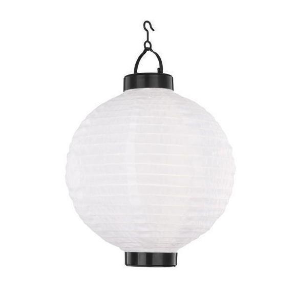Solarna Svetilka Marcel - črna/bela, umetna masa (25,4/35,5cm) - Mömax modern living