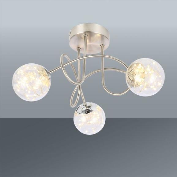 Led-reflektor Kiko - Moderno, kovina/steklo (38/26cm) - Premium Living