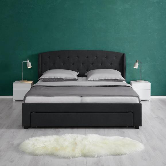 polsterbett emmi ca 180x200 cm mit bettkasten online. Black Bedroom Furniture Sets. Home Design Ideas