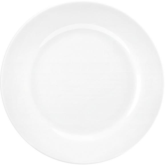 Desszertes Tányér Adria - Fehér, konvencionális, Kerámia (19cm) - Mömax modern living