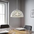 Pendelleuchte Arjeta - Weiß, MODERN, Metall (30/120cm) - Modern Living