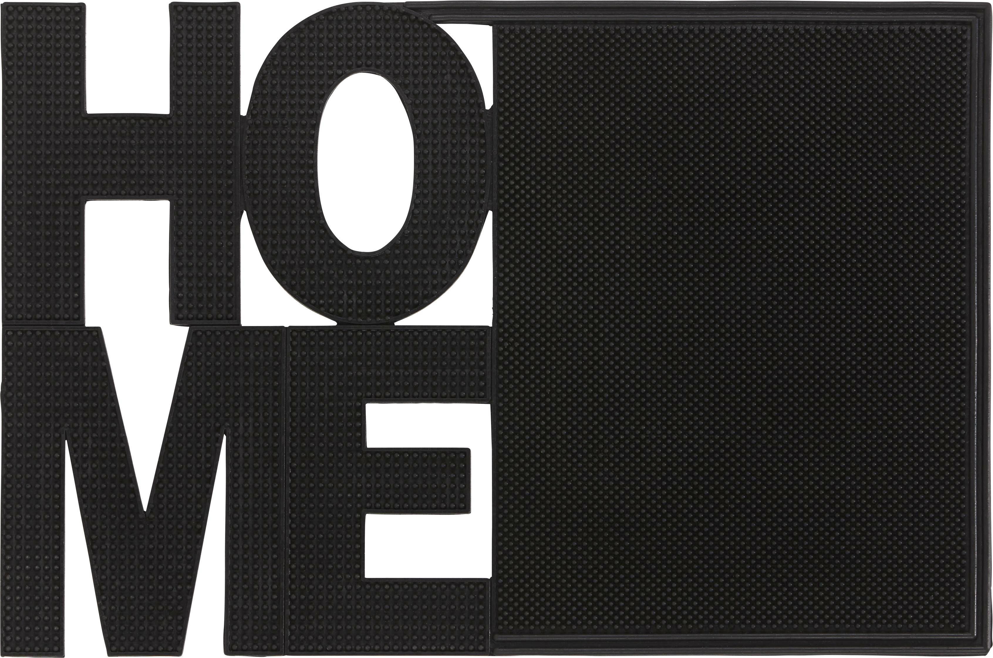 Fußmatte Anny in Schwarz, ca. 40x60cm - Schwarz, MODERN, Kunststoff (40/60cm) - MÖMAX modern living