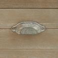 Kommode in Kieferfarben 'Savannah Antik' - Kieferfarben, Holz/Metall (50/92/33cm) - Bessagi Home