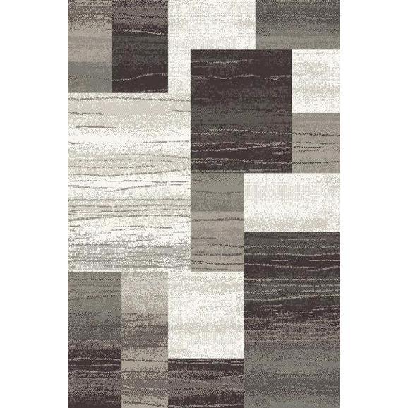 Webteppich Tina ca. 160x230cm - Anthrazit/Beige, KONVENTIONELL, Textil (160/230cm)