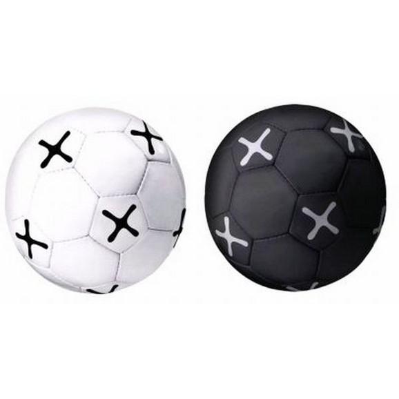 fu ball m max in schwarz wei online kaufen m max. Black Bedroom Furniture Sets. Home Design Ideas
