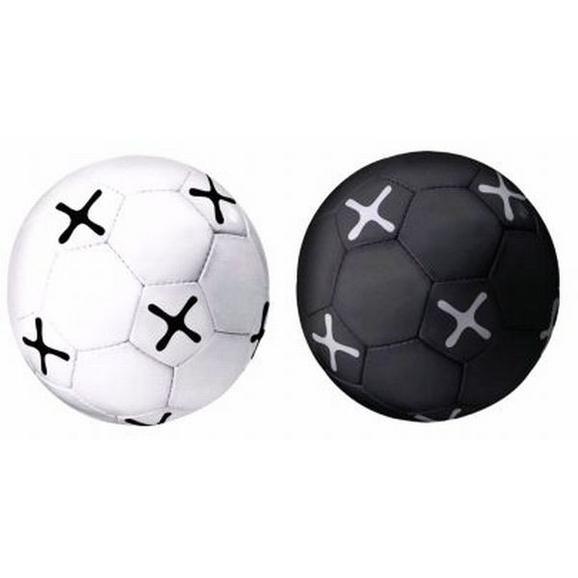 Nogometna Žoga Mömax 4 You -ext- - črna/bela, umetna masa (21,5cm) - Mömax modern living