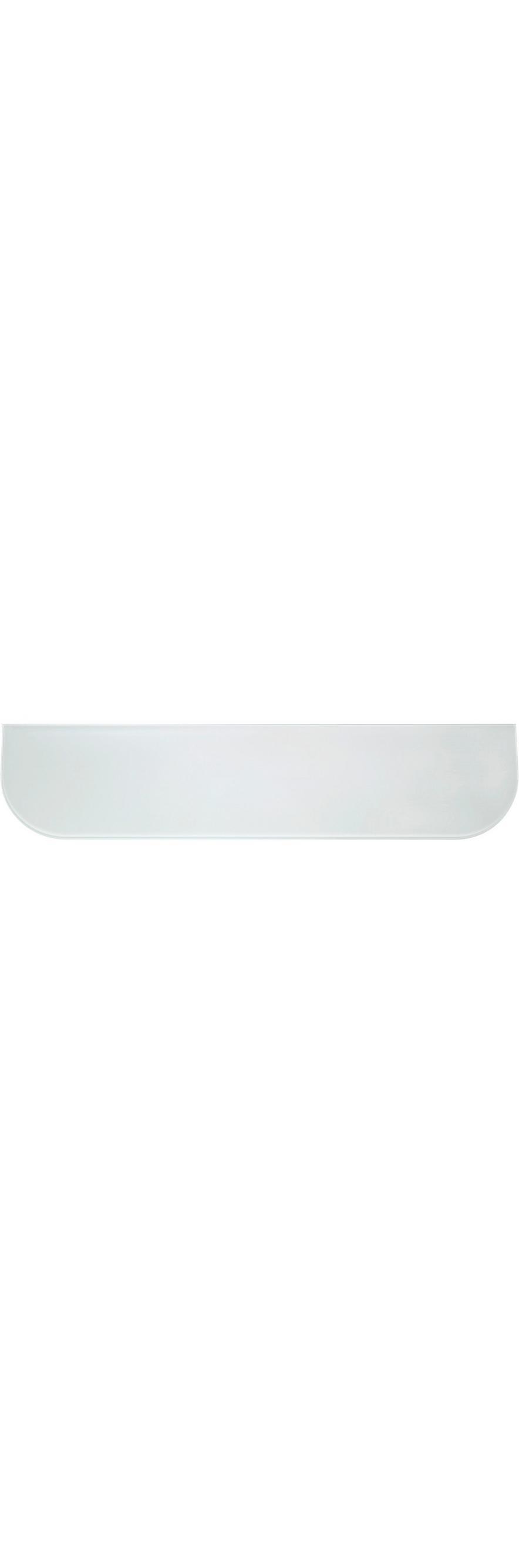 Wandregal Glas Gerundet Weiß Online Kaufen Mömax