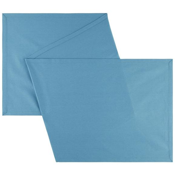 Tischläufer Steffi Blau - Blau, Textil (45/150cm) - Mömax modern living