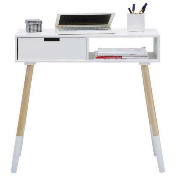 schreibtisch wei holz online kaufen m max. Black Bedroom Furniture Sets. Home Design Ideas