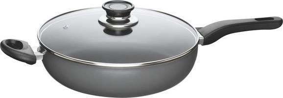 Ponev Fabia - prozorna/antracit, kovina/steklo (28cm) - Mömax modern living