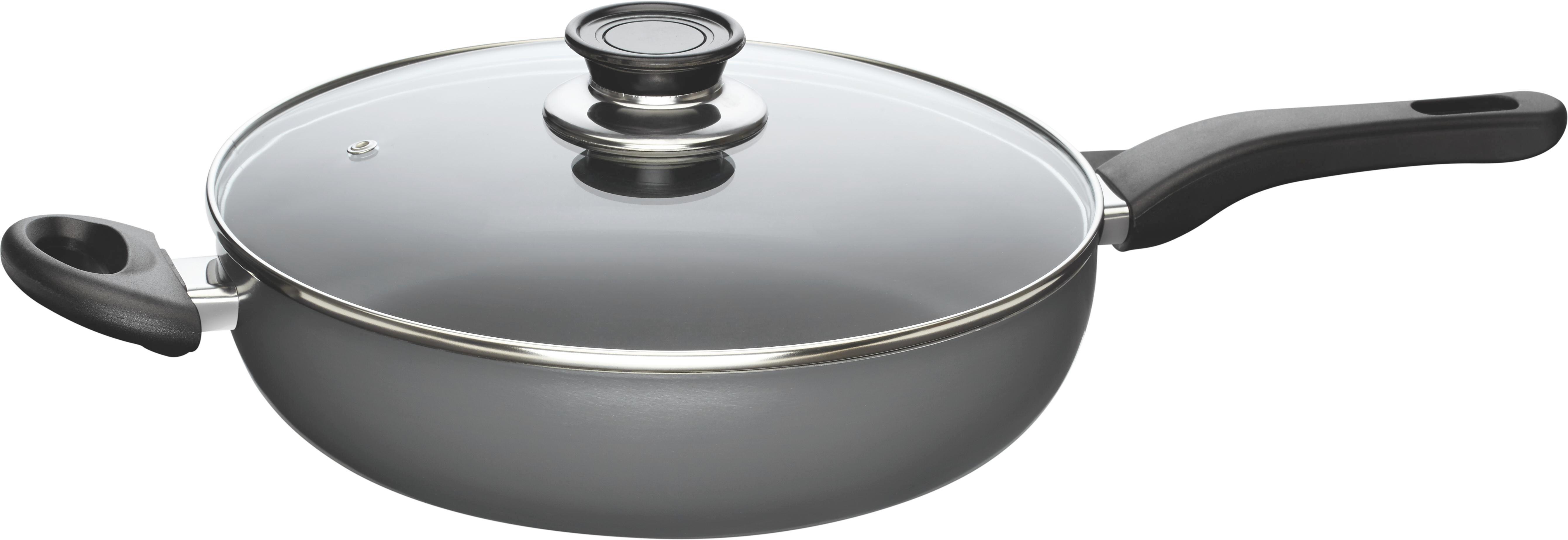 Serpenyő Fabia - tiszta/antracit, üveg/fém (28cm) - MÖMAX modern living