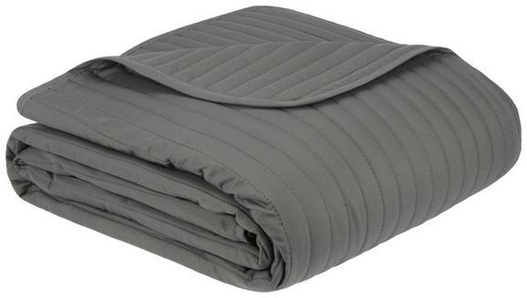 Tagesdecke Ultra Anthrazit 230x230cm - Anthrazit, Textil (230/230cm) - Mömax modern living