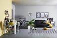 Nadprt Steffi -top- - rumena, tekstil (45/150cm) - Mömax modern living