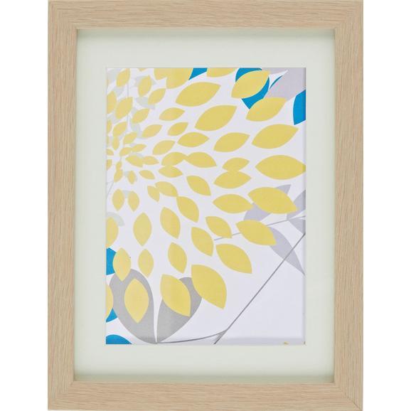 Bilderrahmen Gitta, ca. 18x24cm - Eichefarben, Glas/Holz (18/24cm) - Mömax modern living