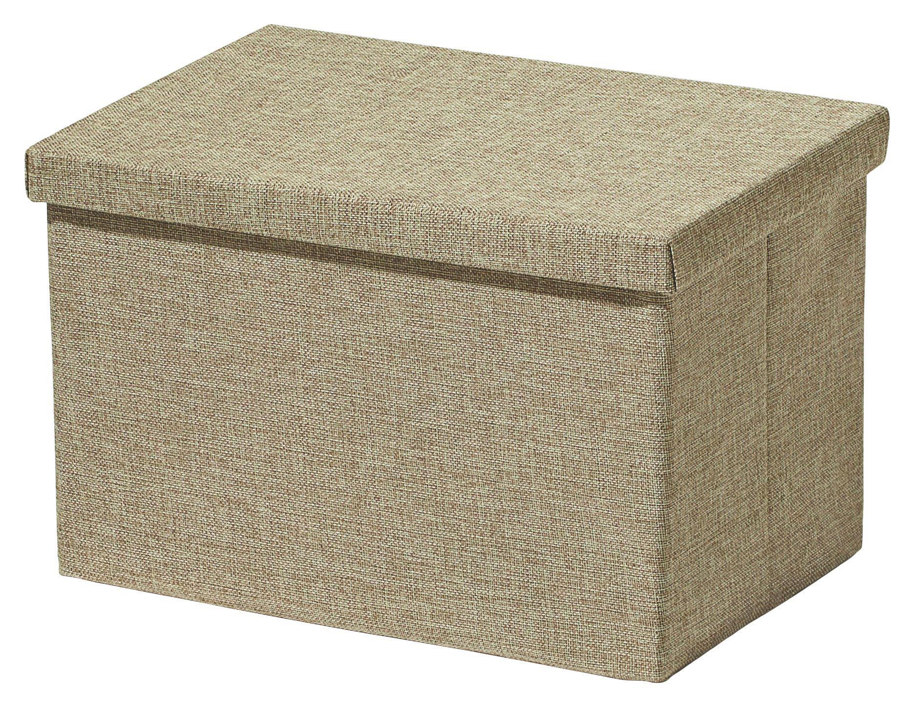 Aufbewahrungsbox Cindy - Beige, MODERN, Textil (38/26/24cm) - MÖMAX modern living
