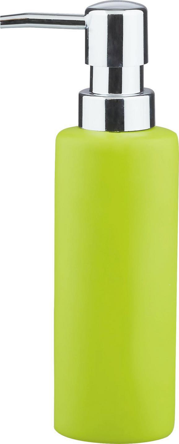 Folyékony Szappanadagoló Melanie - Zöld, konvencionális, Kerámia (5/18cm) - Mömax modern living