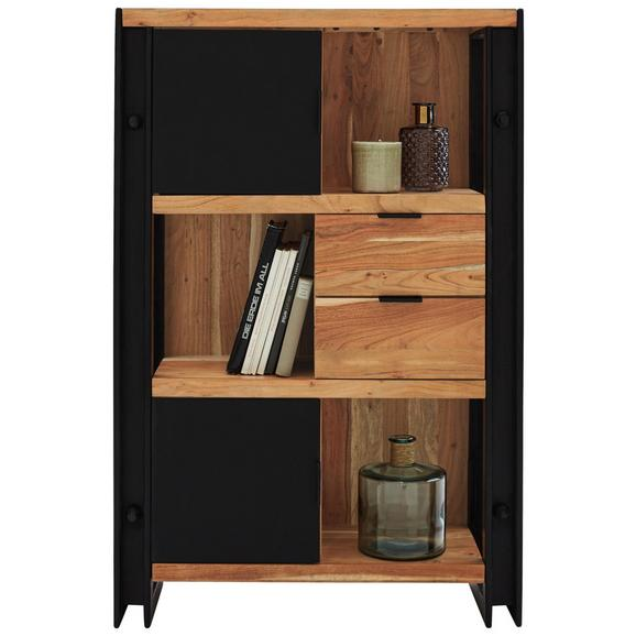 Highboard schwarz